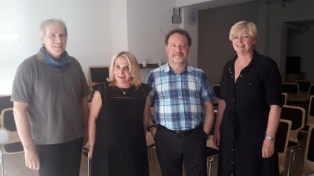 Dr. Norbert Reichel, Dr. Margaret Traub, Michael Szentei-Heise, Susanne Blasberg-Bense.